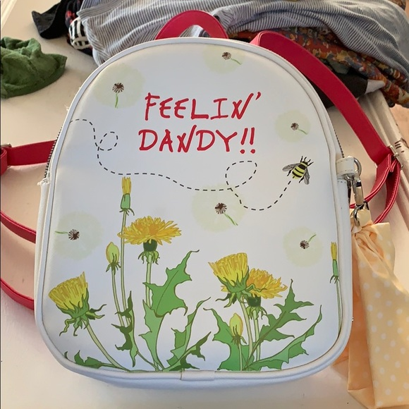 Betsey Johnson Handbags - Betsey Johnson mini backpack purse NWOT
